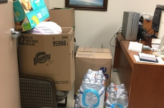 A small portion of supplies we gave to the ARK